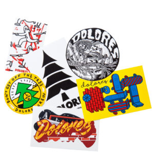 DOLORES STICKERS PACK