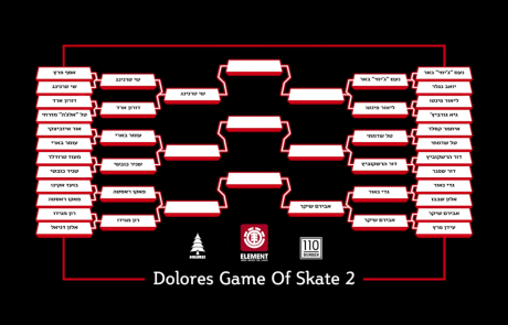 Dolores Game Of S.K.A.T.E – PRE GAME 18 Lior Pinto Jimmy Be'er